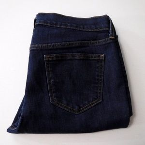 Old Navy Sweetheart Boot Cut Blue Jeans 6 Short